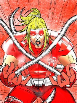Omega Red by godafather