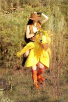 Cowgirl and Chocobo by NightNike