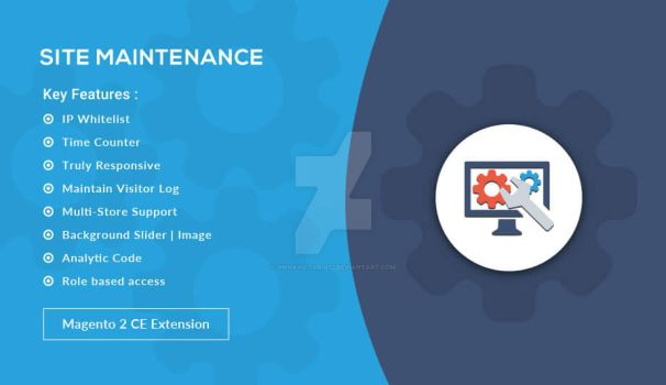 Site Maintenance - Magento 2 Extension by AnnaVictoria12