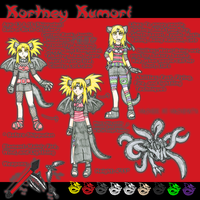 Kortney Kumori - Ref by KumoriDragon