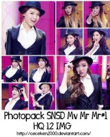 Photopack SNSD #1: Mv Mr Mr by CeCeKen2000