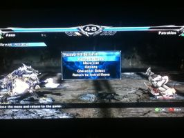 Soul Calibur V, Aeon Vs Patroklos by LightTheDragon19