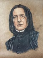 Severus Snape by HEXEnART