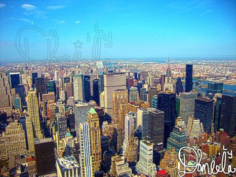 NYC buildings by daniela-ily