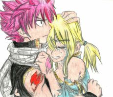 Natsu and Lucy by Kagome730