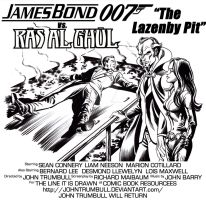 LIID 115: 007 vs. Ra's Al Ghul in The Lazenby Pit! by johntrumbull