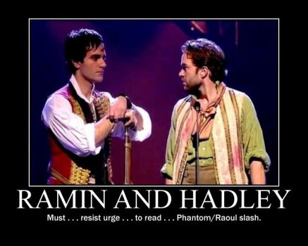 Ramin and Hadley by MlleRevenant