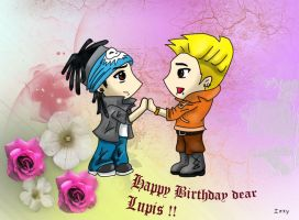 Chibi twins love by IzzyKaulitz