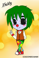 Buddy the Chibi Clown by Ichigooneechan66