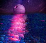 The Death Star Rise Over the Sea of Dreams by BigJaa