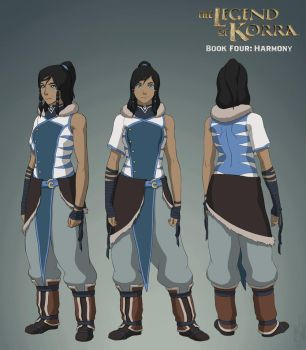 Korra - Book Four: Harmony by ZedEdge