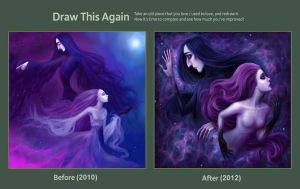 Draw This Again - Forever One and All by Enamorte