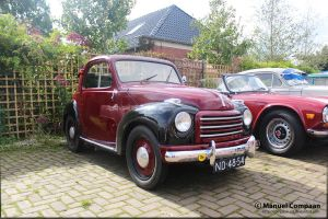 1951 Fiat 500 C Topolino by compaan-art