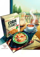 Cereals for Breakfast by skian-winterfyre