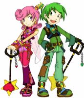 Cosmo and Wanda by insha
