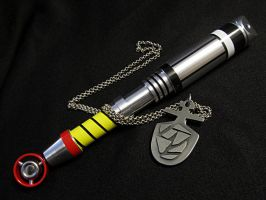 The 3rd Doctor's Sonic Screwdriver and Tardis Key by Police-Box-Traveler