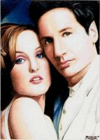 Scully and Mulder PSC 1 by jenchuan