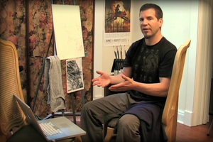 Jon Foster: Oil Painting, Parts I and II by theartdepartment
