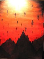 End of the world by Atzuni
