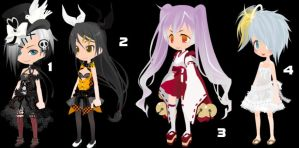 Simple Girl Set 11 CLOSED by AdoptableSoulxHeart