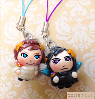 Kid Icarus charms by Comsical