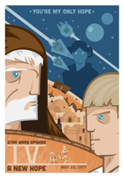 A New Hope Poster by GoJoeThibaultGo