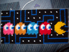 [Commission][WIP] Pacman Cover - Ghost Panel Done by AprilMoonshine