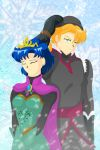 722-SL-Ice Queen and Ice Guy by Silverlegends
