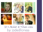 House MD Amber and James Wilson Icons by jadedlioness