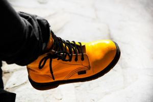 yellow boots by vtr1000f