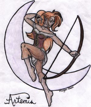 artemis in color by erisa