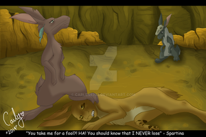 Watership Down Dark Haven Paypal Commission by Carlene707