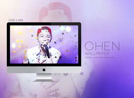 EXO Wallpaper: CHEN - 001 by sarielk