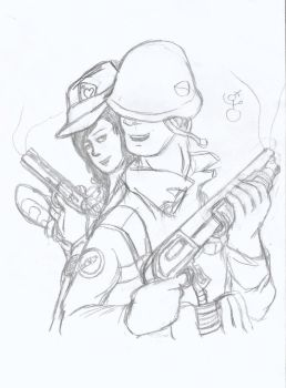 TF2 stuff again :P by FrontierArtist
