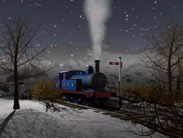 Holden F5 winter scene by YanamationPictures