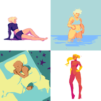 SPA:CE - Color Palette Edition 1 by Aileen-Kailum