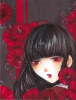 Red flowers by Giname