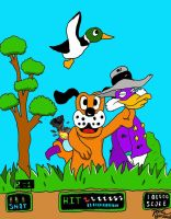 Darkwing Duck Meets Duck Hunt by RoccoBertucci