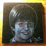 Harry Potter - granite etching by ckatt01