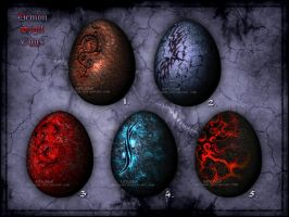 Demon Sigil Eggs - [closed] by Neyjour