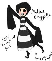 Happypasta: Madeline-Briggette by Chibi-Works