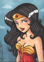 WW sketch card by katiecandraw