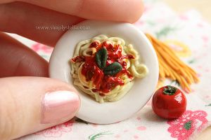 Spaghetti - Miniature, size by thinkpastel