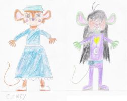 Cindy - Psycho Mouse by luis831