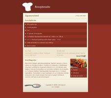 Recipe site - Detail by Jonnotie
