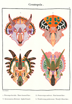Cerotopsids by greer-stothers