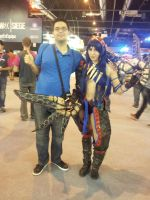 MGW 2015: Me and a Monster Hunter girl by alvarobmk123