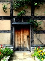 The Door to Shakespeare's Home by thefinaltruth