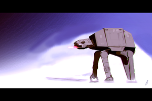 AT-AT Walker Study by chadlindall
