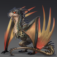 Wyvern by Baphometall